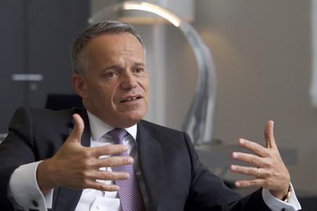 Guy Hoffmann compte sur le «Beirat» pour nourrir la stratégie de la banque. (Photo: Nader Ghavami)