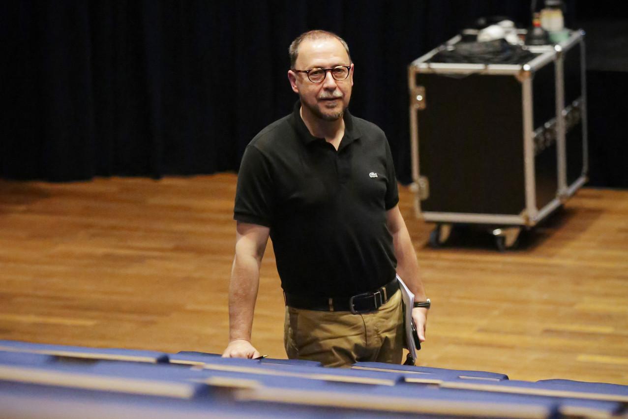 Le président de la Theater Federatioun, Claude Mangen, réaffirme l'envie du secteur de rallumer les lumières de la scène théâtrale luxembourgeoise et donne à sa fédération les moyens de se faire voir par le public. (Photo: boshua - Bohumil KOSTOHRYZ)