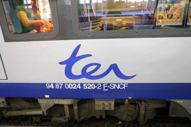 La région Grand Est est une des cinq régions françaises qui ont déjà dit attendre l'arrivée de concurrents de la SNCF pour organiser les trains régionaux, ou TER, comme celui qui arrive au Luxembourg pour 12.000frontaliers chaque jour. (Photo: Paperjam)