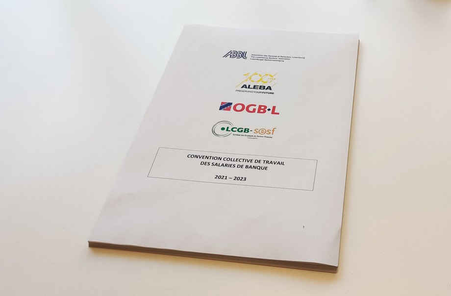 The collective labour agreement, signed in 2018, was valid until 2020. The new agreement will cover the period 2021-2023 and was signed on Thursday evening. (Photo: Paperjam)