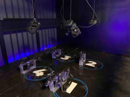 Les masques de réalité virtuelle plongent les visiteurs dans d'autres univers. ((Photo: Maison Moderne))
