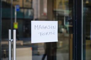 En un an, le nombre de faillites a plus que doublé dans le secteur du commerce. (Photo: Romain Gamba/Maison Moderne)