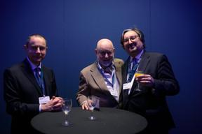 À droite, Jean Diederich (Wavestone) ((Photo: Matic Zorman))