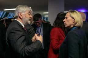 Georges Schmit (SpaceResources) et Anouk Agnès (Ministère d'Etat) ((Photo: Matic Zorman))