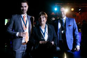 Au centre, Michèle Detaille (Présidente de la Fedil) ((Photo: Matic Zorman))
