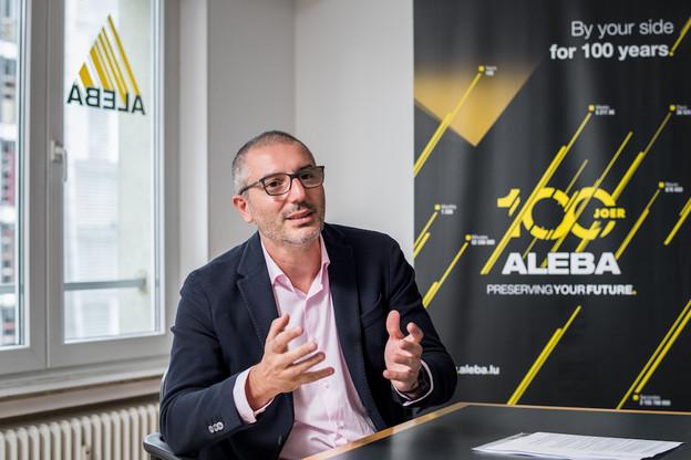 Roberto Mendolia: «L'Aleba demande au gouvernement de légiférer pour obliger la négociation d'une première CCT dans les secteurs encore non couverts, comme celui des fonds d'investissement, par exemple.» (Photo: Nader Ghavami)