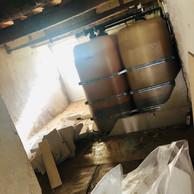 Intérieur de la maison de village de Mamer de JaneExall-Phillips et de son mari avant qu'elle soit démolie et reconstruite. ((Photo: JaneExall-Phillips))