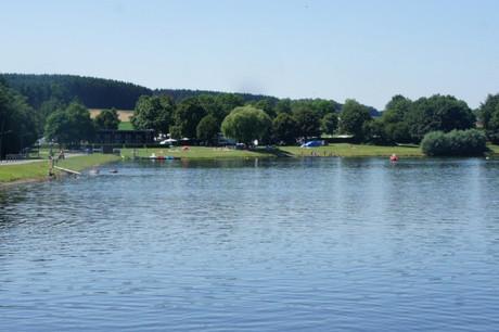 60,1% des habitants deWeiswampach n'étaient pas d'accord avec la construction d'un complexe hôtelier autour des deux lacs. (Photo:visit-eislek.lu)