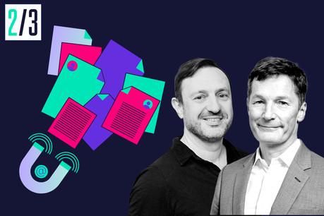 Eric Busch, CEO de nexten.io, etAlain Rodermann, Managing Partner de Expon Capital. Maison Moderne