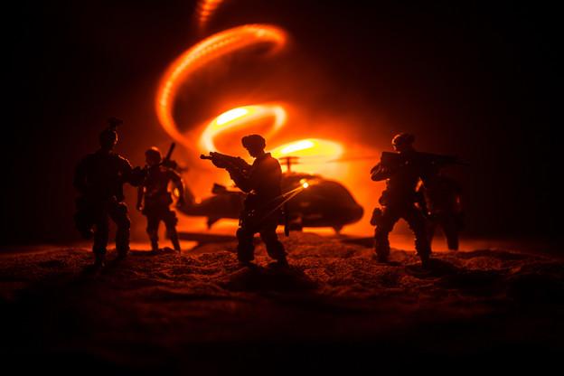 Les armées du monde ont-elles encore besoin des humains? Et de quels armements complémentaires pour leurs soldats? Des questions auxquelles doivent répondre les «Red Teams». (Photo: Shutterstock)