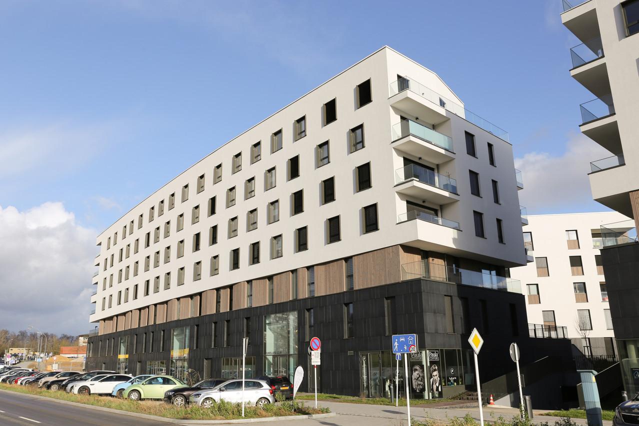 Certains appartements situés au Kirchberg ont été confiés à la gestion locative sociale. (Photo: Romain Gamba/Maison Moderne)