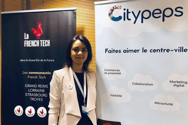 «Le RGPD est un vrai allié», lance Hanen Belhaj Frej, la jeune femme originaire de Tunisie, Thionvilloise d'adoption et fondatrice de Citypeps. (Photo: Paperjam)