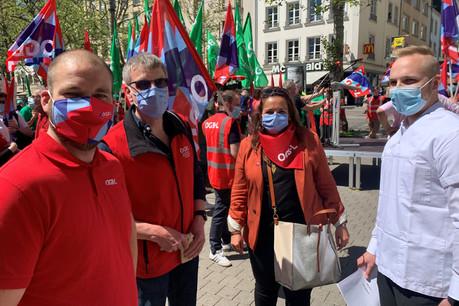 NoraBack a accompagné l'étudiant pétitionnaire au Cercle Cité pour débattre du projet de réforme de la formation des professionnels de santé. (Photo: OGBL)