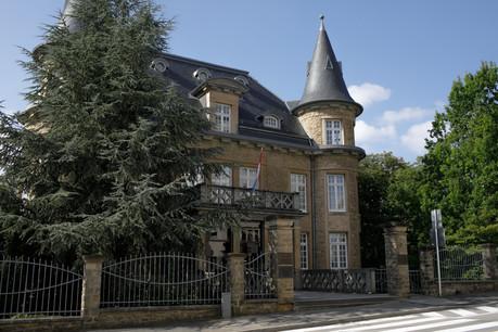 La Villa Pauly se situe au 57, boulevard de la Pétrusse. (Photo: Matic Zorman/Maison Moderne)