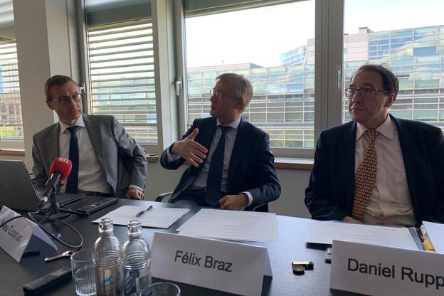 Le ministre de la Justice Félix Braz souligne la nécessité d'imposer les mêmes obligations à toutes les entités, PME et asbl comprises, afin de garantir l'efficacité de la lutte anti-blanchiment. (Photo: Paperjam)