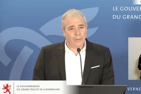 DanKersch, ministre des Sports, a dévoilé les nouvelles conditions dans lesquelles les pratiques sportives pourront se dérouler. (Photo: SIP)