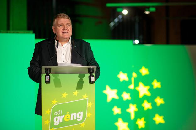 ChristianKmiotek a quitté la coprésidence du parti écologiste pour retrouver une vie plus calme et moins exposée. (Photo : Matic Zorman / Archives Paperjam)