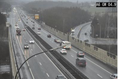 Les opérateurs de Cita ont remarqué une fluidification du trafic et une baisse des comportements dangereux sur les autoroutes soumises à la modulation de la vitesse maximale autorisée. (Photo: Capture d'écran/Cita.lu)