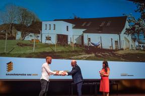 Laurent Arndt , lauréat du Bauhärepräis OAI 2020 ((Photo: Nader Ghavami/Maison Moderne))