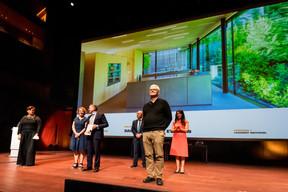 Lynette et Johan Dackner, lauréats du Bauhärepräis OAI 2020 ((Photo: Nader Ghavami/Maison Moderne))