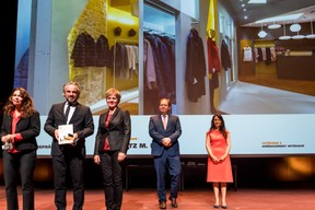 Monsieur et Madame Schmitz, lauréats du Bauhärepräis OAI 2020 ((Photo: Nader Ghavami/Maison Moderne))