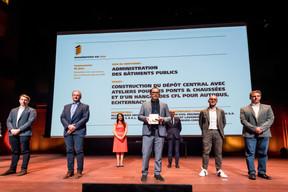 Administrations des bâtiments publics, lauréat du Bauhärepräis OAI 2020 ((Photo: Nader Ghavami/Maison Moderne))