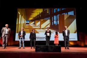 Administration des bâtiments publics, lauréat du Bauhärepräis OAI 2020 ((Photo: Nader Ghavami/Maison Moderne))