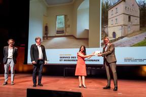 Service des sites et monuments nationaux, lauréat du Bauhärepräis OAI 2020 ((Photo: Nader Ghavami/Maison Moderne))