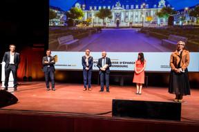 Banque et Caisse d'Épargne de l'État, lauréat du Bauhärepräis OAI 2020 ((Photo: Nader Ghavami/Maison Moderne))