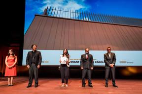 Oscar Gómez et Carolina Álamo, lauréats du Bauhärepräis OAI 2020 ((Photo: Nader Ghavami/Maison Moderne))