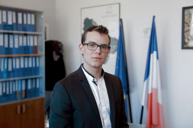 En 2016, Rémy Dick était devenu le plus jeune maire de France, à l'âge de 22 ans. (Photo: Romain Gamba / Archives)