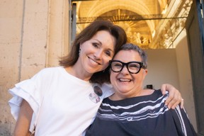 Florence Reckinger (Lët'z Arles) et Danielle Igniti ((Photo: Bernard Gille))