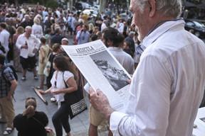 Journal Aedicula ((Photo: Romain Girtgen / CNA))