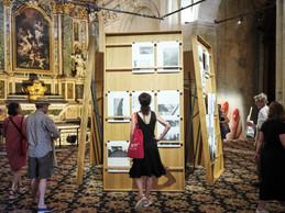 «Aedicula» de Claudia Passeri, vue de l'installation à la Chapelle de la Charité ((Photo: Romain Girtgen / CNA))