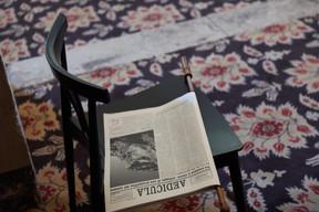 Journal Aedicula de Claudia Passeri ((Photo: Romain Girtgen / CNA))