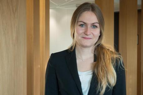 Flora Nachawati souhaite travailler dans le client relationship management pour une institution financière. (Photo: Adem)