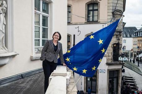 Pour Yuriko Backes, chef de la représentation de la Commission au Luxembourg, «l'histoire de demain s'écrit aujourd'hui». (Photo: Mike Zenari)