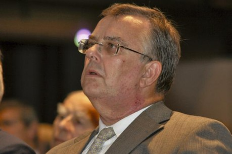 Victor Rod (ici en 2007), a tenu les rênes du Commissariat aux assurances jusqu'à décembre 2014.  (Photo: Étienne Delorme / archives)