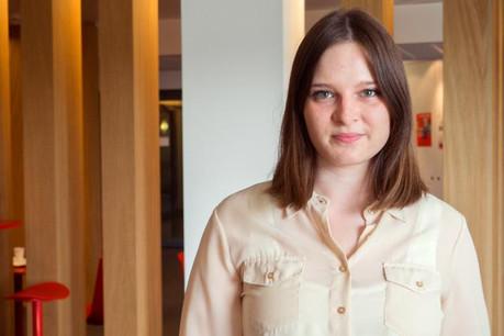 Carmen Baustert est à la recherche d'une tâche créative qui demande de l'initiative, pourquoi pas dans les médias. (Photo: Adem)
