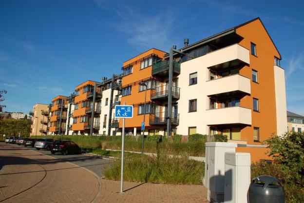 Les appartements restent prisés en centre-ville, avec un stock qui se renouvelle régulièrement. (Photo: Houyoux)