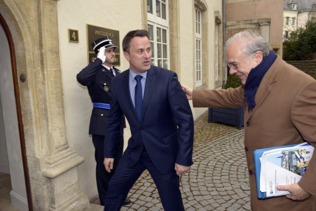 Le secrétaire général de l'OCDE, Angel Gurria, lors de sa dernière visite au Luxembourg, en mars dernier. (Photo: Christophe Olinger)