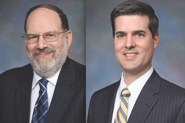 Gary L. Goldberg and John R. Russell, members of Dentons' Public Policy and Regulation practice in our Washington office. (Photo: Dentons)