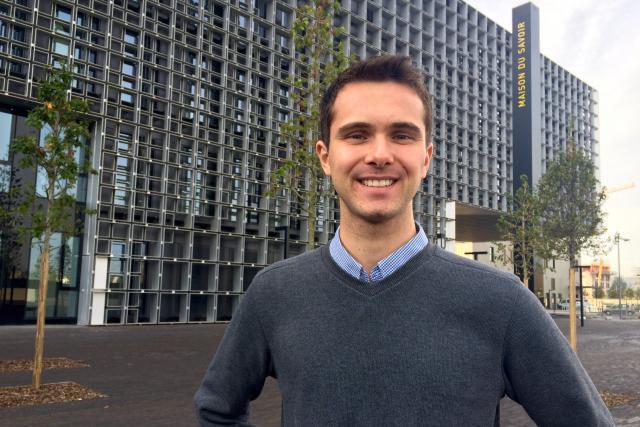 Thibault Tanguy, 20 ans, voit le Luxembourg dans 10 ans comme «toujours aussi attractif et dynamique!»  (Photo: Uni.lu)