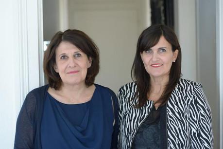 Maria Pietrangeli et sa sœur, Patricia Sciotti, fondatrices de Femmes Magazine. (Photo: Femmes magazine)