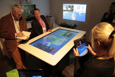 Les outils interactifs sur différents supports peuvent s'adapter à des situations dans l'entreprise. (Photo: Ricoh)