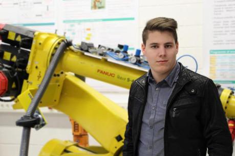 Quentin Ghysens rêve d'être professeur à l'université. (Photo: Université du Luxembourg)
