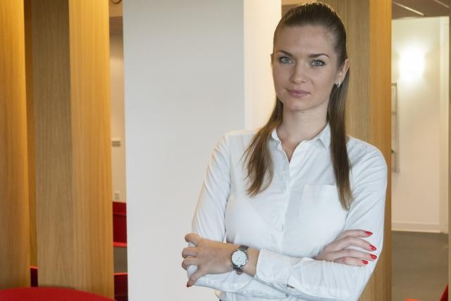 Katsiarynaù Volakh souhaiterait «travailler dans une entreprise globale où l'employeur aurait du respect envers le travailleur». (Photo: Adem)