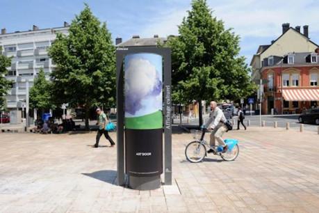 Les colonnes ont un bilan positif après un an de présence communicative en Ville. (Photo: JCDecaux)