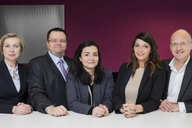 Jean-François Trapp, Charles Roemers et leurs collaboratrices sont actifs chez MNKS depuis ce 1er février. (Photo: DR)