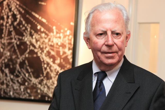 Jacques Santer, ministre d'État honoraire, a été deux fois député européen et une fois président de la Commission européenne. (photo: Jessica Theis / archives)